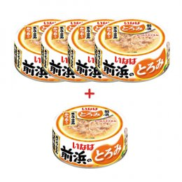 INABA Cat Food Canned Tuna White & Red with Chicken Fillet (125 g. x 5)