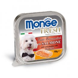 Monge Fresh Pate and Chunkies with Salmon (100 g.)