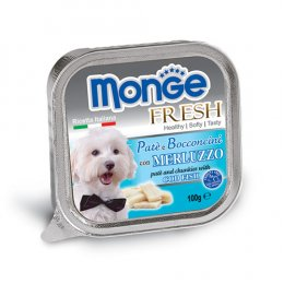 Monge Fresh Pate and Chunkies with Cod Fish (100 g.)