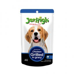 Jerhigh Pouch  Chicken Grilled in Gravy (120 g.)