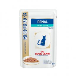 Royal Canin Vet Diet Cat Renal with Tuna Pouch (85 g.)
