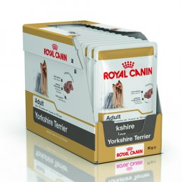 Royal Canin Yorkshire Terrier Pouch 85 g. x 12