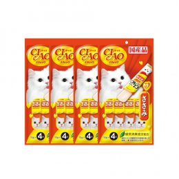 CIAO Cat Stick Chicken Fillet in Jelly 15 g. (4 pcs./Pack) x 4 Packs