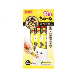 CIAO Cat Snack Churu Grilled Tuna with Maguro 12 g. (4 pcs./Pack)