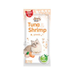Jerhigh Jinny Tuna & Shrimp 14 g. (4 pcs./Pack)