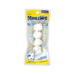 MunzNie White Knitted Ball (4 pcs.)