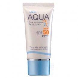 Mistine Aqua Base Sunscreen Facial Cream SPF 50 PA+++ 20g.