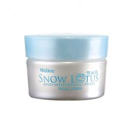 Mistine Snow Lotus And Whitening Pearl Facial Cream 30 g.