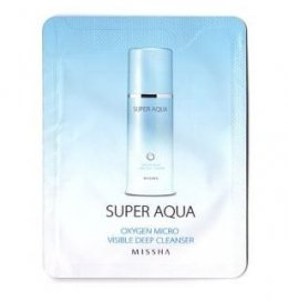 Missha Super Aqua Oxygen Micro Visible Deep Cleanser 3ml*10ea