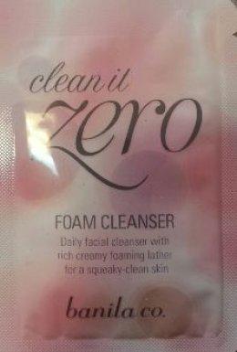 Banila co Clean it zero foam cleanser 3ml*4ea