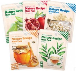 Secretkey nature recipe mask pack #Tea tree