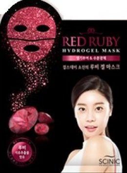 SCINIC Red Ruby Hydrogel mask
