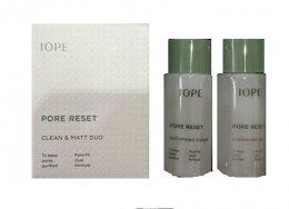 IOPE Pore reset clean & matt duo