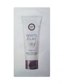 Happy bath white Clay Purifying mask 3ml*2ea