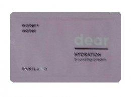 Banila co water+water dear hydration boosting cream 1ml*10ea