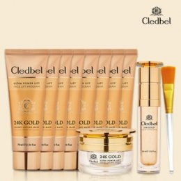Cledbel Face 24K gold collagen lifting mask _ 1set