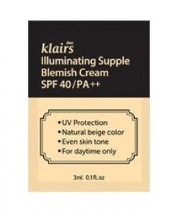 Klairs Illuminating Supple blemish cream  3ml*10ea