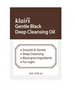 Klairs Gentle Black Deep Cleansing Oil 3ml*10ea