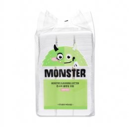 Etude house MONSTER CLEANSING COTTON PADS 408P