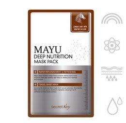 Secretkey Mayu Deep nutrition mask pack