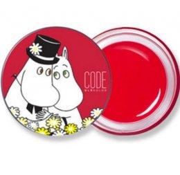 codeglokolor with moomin M tint lip balm #medium cherry red