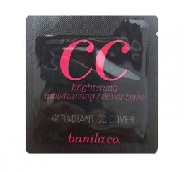 Banila co it radiant cc cover 1ml*4ea