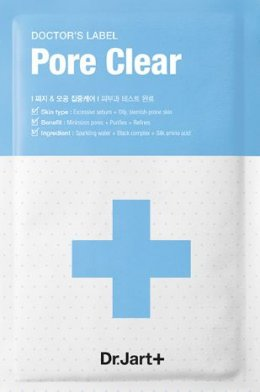 Dr.jart Doctor's label Pore Clear mask