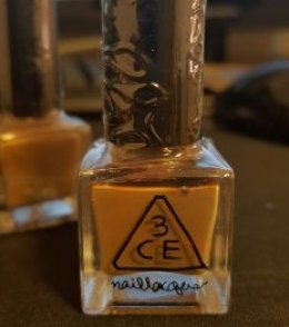 3CE nail lacquer #BE02