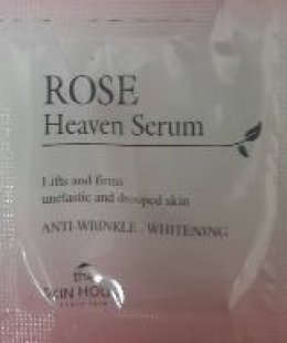 The skin house Rose heaven serum*6ซอง