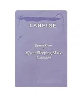laneige Special care water sleeping mask [Lavender] 3ml
