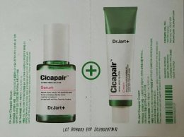Dr.jart cicapair serum 1ml + cream 1ml