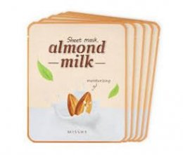 Missha sheet mask # almond