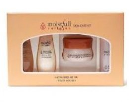Etude house moistfull collagen skin care kit 4items