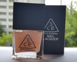 3CE nail lacquer #PE02