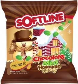 Softline Chocolate Mint Flavoured Candy