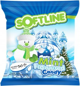 Softline Mint Flavoured Candy