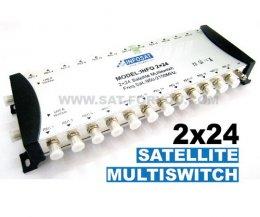 Multi Switch 2x24 INFOSAT (เข้า2ออก24)