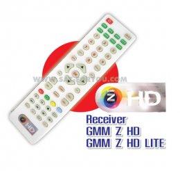 รีโมทคอนโทรลรีซีฟเวอร์ GMM Z HD