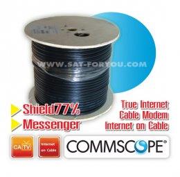 สายRG6 CommScope 77% 305m มีสลิง