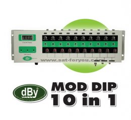 MOD dBy Adjust Channel 10 IN 1