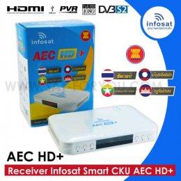 Receiver Infosat Smart CKU รุ่น AEC HD+