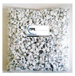 กิ๊บตอกสาย RG-6 ถุง1,000ตัว TPL สีขาว