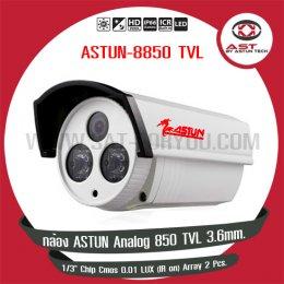 กล้อง Analog 850 TVL 3.6 mm.
