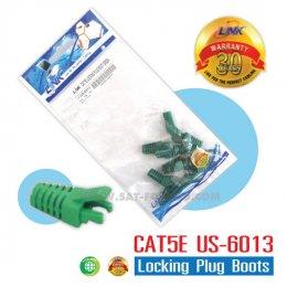 CAT5E Locking Plug Boots LINK สีเขียว