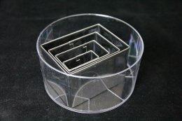 ชุดกดคุ้กกี้สแตนเลส สี่เหลี่ยมผืนผ้า 4 ชิ้น