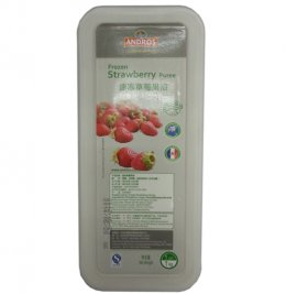 Andros Frozen Puree: Strawberry 1 kg