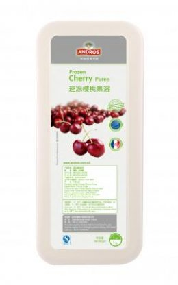 Andros Frozen Puree: Morelle Cherry 1 kg