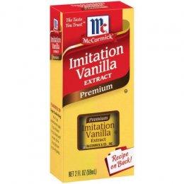 Imitation Vanilla Extract McCormick Premium 2 OZ