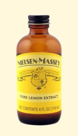 2 OZ Nielsen Massey Lemon Extract
