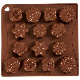 CHOCO14 Pavoni BROWN CHOCO PRALINES: BOUQUET